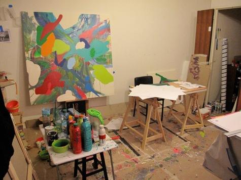 taller en la Cité internationale des Arts